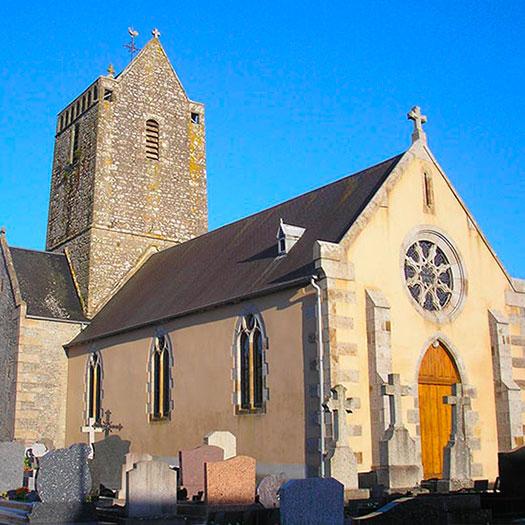 Eglise de Marcey les Grèves