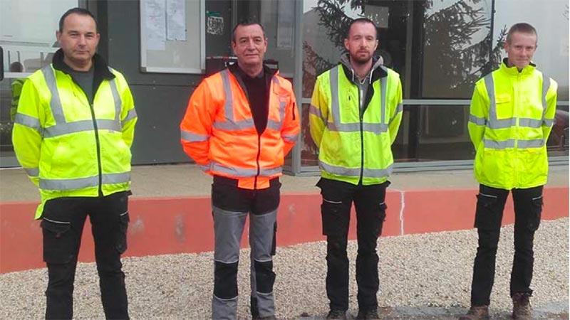 Agents techniques de Marcey les Grèves