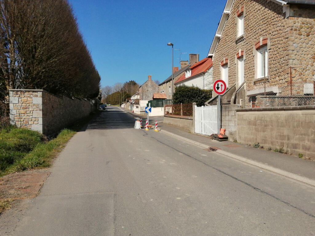 Travaux de Marcey Les Greves Normandie